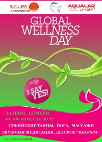 GLOBAL WELLNESS DAY 2017 в Латвии
