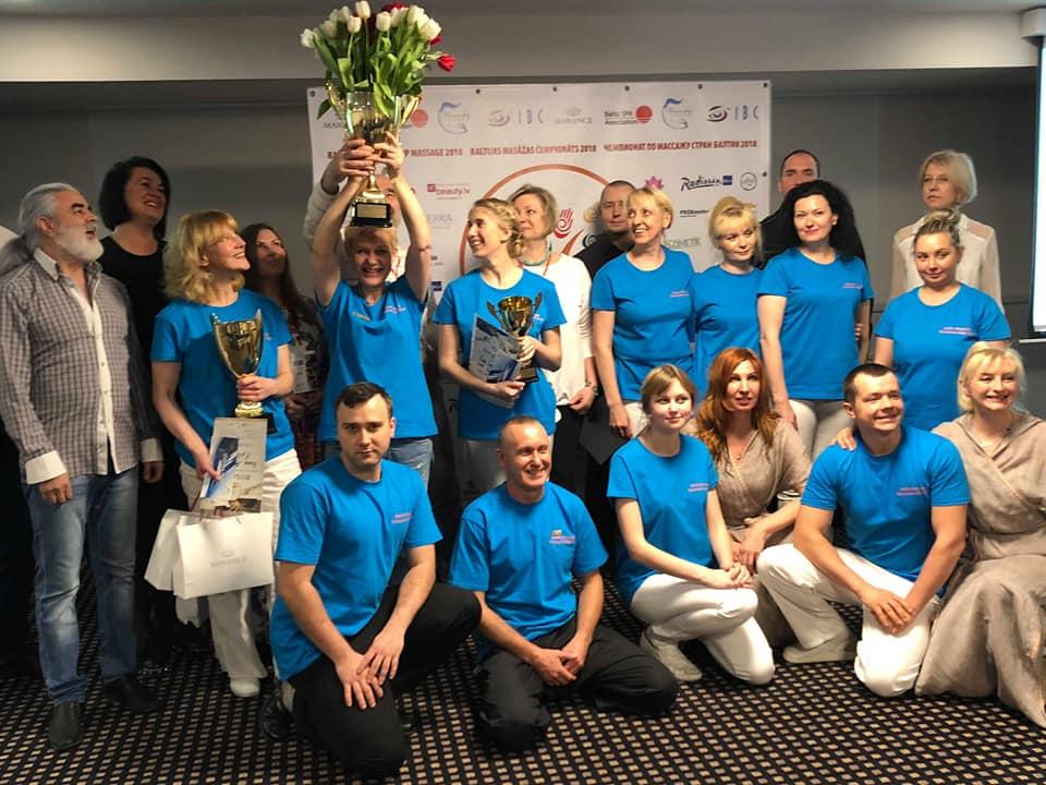 Открытый Чемпионат стран Балтии по массажу 2018! WELL DONE!