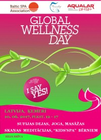 GLOBAL WELLNESS DAY 2017 Latvijā